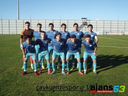 GAZİANTEP HAFTASINDA İLK KAPIYI U19 AÇTI: 0-3