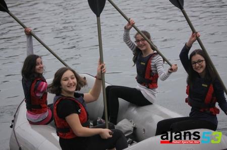 2 Mart Etkinlikleri Kapsamında Rafting Yarışması Yapıldı
