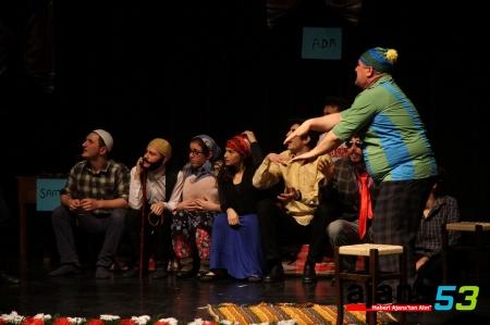 Fıkralarla Rize Tiyatro Gösterisi