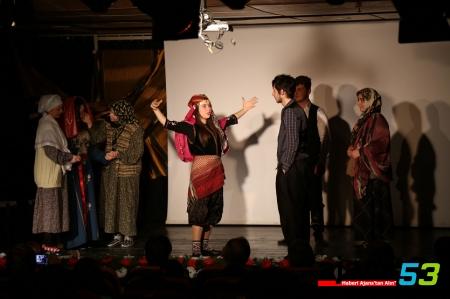 Rize'nin Kurtuluşu Tiyatroda Sahnelendi