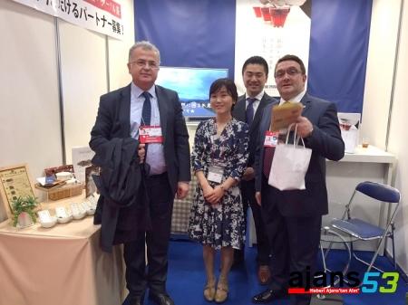 Başkan Kasap ve Rize Heyeti Japonya Foodex Fuarı'nda
