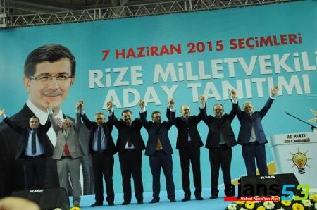 AK Parti 5 Bin Kişilik Dev Organizasyonla Seçim Startını Verdi