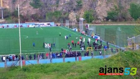 1461 Trabzon-Ofspor maçında olaylar çıktı