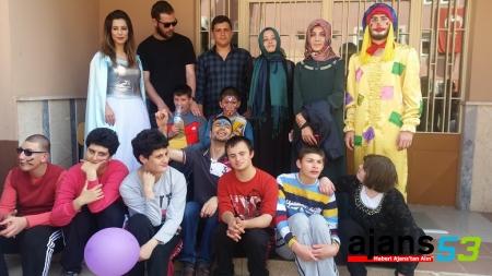 Gençlik Meclisi Engelliler Haftasında Zehra Usta okulunu ziyaret etti