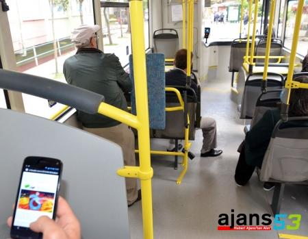 Otobüslerde Ücretsiz İnternet Dönemi Başladı
