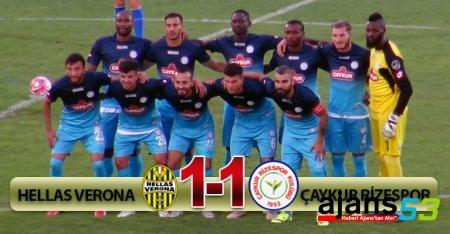 Verona 1-1 Ç.Rizespor