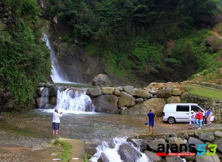 Ağaran Şelalesi, turistlerin yeni gözdesi