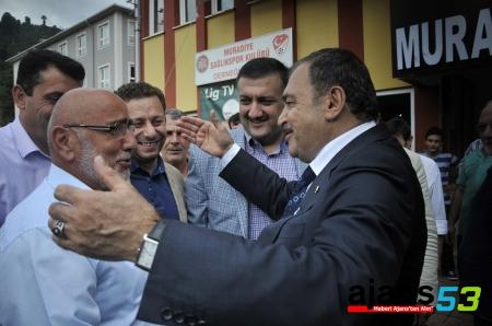 Orman ve Su İşleri Bakanı Eroğlu, Rize'de