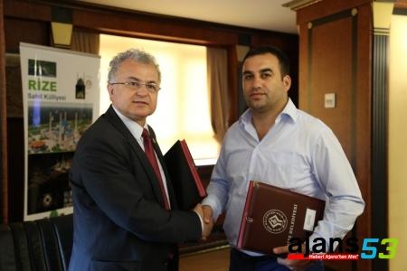 Rize'de gençler için protokol imzalandı