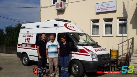 Çaykent Beldesine 112 ASHİ Hizmete Girdi