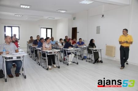 İş Güvenliği Uzman Adayları RTEÜ'de Eğitim Programını Başarıyla Tamamladı