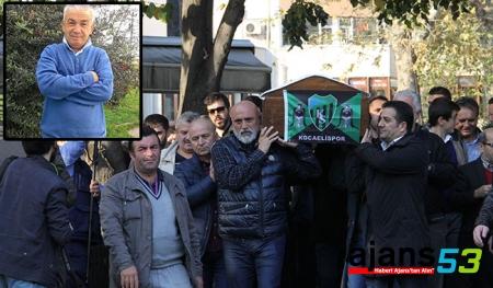 Rizespor'un Eski ve Yeni Hocası Tabuta Birlikte  Omuz Verdiler!