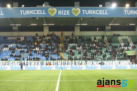 Çaykur Rizespor, taraftar desteği bekliyor!