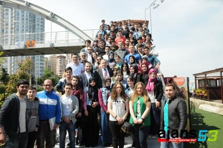 AK Gençlik Misafir Öğrenciler İle Bir Arada