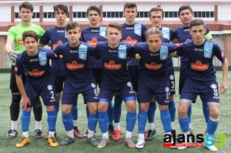 Çaykur Rizespor U17 rövanşı aldı