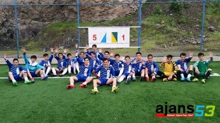 Belediyespor  U-14 Grubu  Bölge Şampiyonu Oldu
