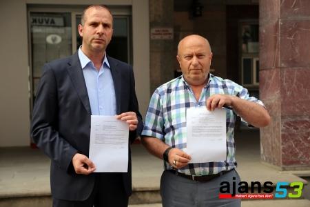 Rize'de 2 kişi suç duyurusunda bulundu