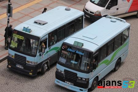 Rize'de Minibüs Ücretleri Zamlandı!..