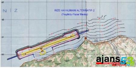 Rize Havalimanı Projesi ÇED raporu kabul edildi