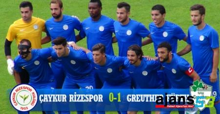 Atmaca, Greuther'e Diş Geçiremedi ! 1 - 0