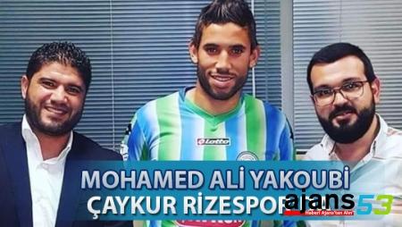 MOHAMED ALİ YACOUBİ ÇAYKUR RİZESPOR'DA