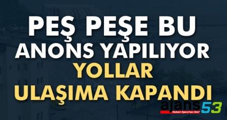 Karadeniz'in O İlini Sel Vurdu!