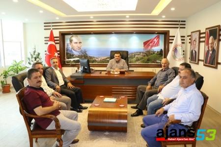 Karal'dan Derepazarı belediyesine ziyaret