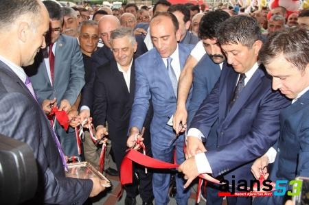 MHP Rize İl Başkanlığı yeni hizmet binası törenle açıldı