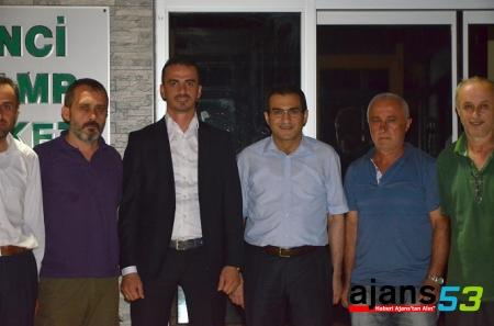 Çayelispor'da Yeni Başkan Tarık YELKENCİ