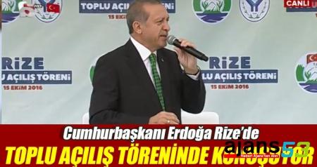 Erdoğan'dan havalimanı müjdesi..