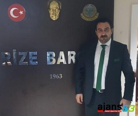 Rize Baro Başkanı Mehmet Çırakoğlu Oldu