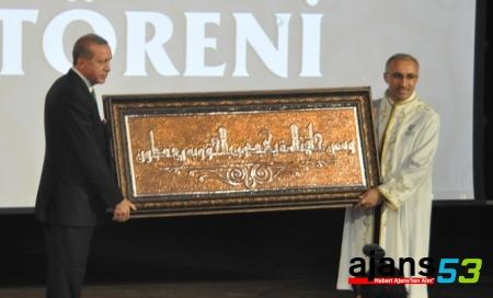 Erdoğan, Recep Tayyip Erdoğan Üniversitesi'nin Akademik Yıl Açılış Törenine Katıldı