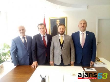 Avcı'dan Rizeli müsteşar Arısoy'a tebrik ziyareti