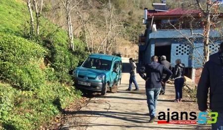 Rize'de görünmez kaza: 1 ölü