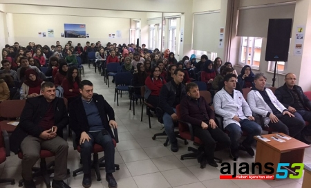 Rize SBL'de sigara bağımlığı konferansı