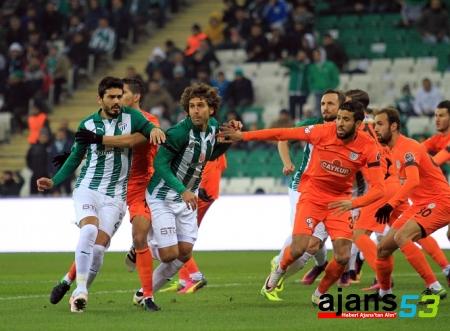 Bursaspor-Çaykur Rizespor maçından notlar
