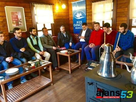 Selim CERRAH Rize'de Gençlerle Buluştu