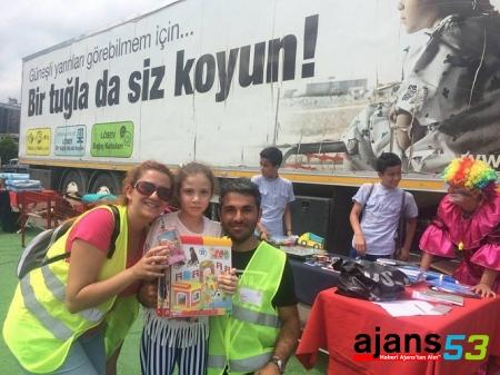 LÖSEV İYİLİKLER TIRI RİZE'DE