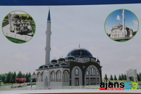 FAKÜLTE CAMİİ İNŞAATI TEMELİ ATILDI..