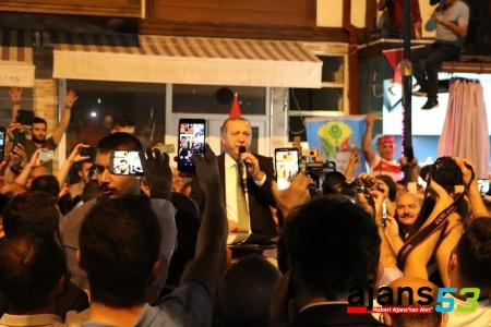 Cumhurbaşkanı Erdoğan Baba Ocağında