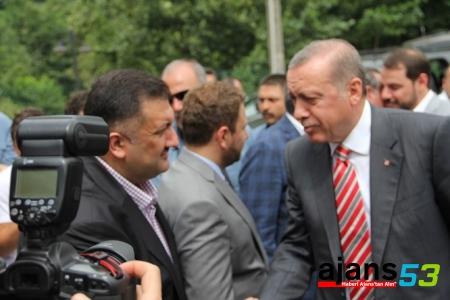 Karal, Cumhurbaşkanı Recep Tayyip Erdoğan'ın Rize Programını Değerlendirdi...