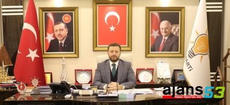 Avcı'dan AK Parti'nin 16. Kuruluş yıl dönümü mesajı
