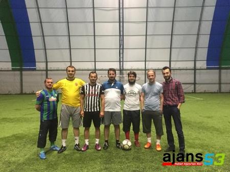 Genç Stk'lar, Halı Saha Futbol Turnuvasında Bir Araya Geldi