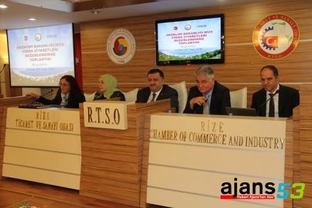 Rize'nin Ekonomisi ve Ticareti Seminerde Konuşuldu