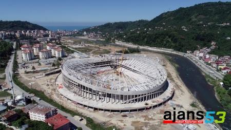 Yeni Giresunspor Stadı Kaç Bin Kişilik Olacak ?!