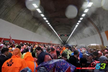 Cumhurbaşkanı Erdoğan Ovit Tünelini Açtı