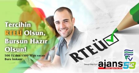 RTEÜ Geliştirme Vakfından Öğrencilere Başarı Bursu Fırsatı