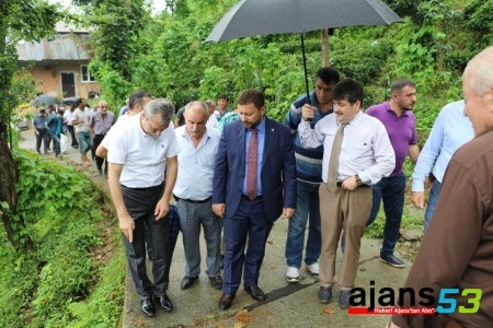 Milletvekili Avcı'dan Afet Sonrası Güzelyurt Köyüne Ziyaret