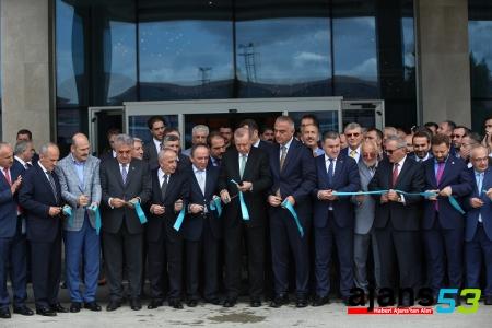 Cumhurbaşkanı Erdoğan, Rize Ramada Oteli'nin açılışını yaptı