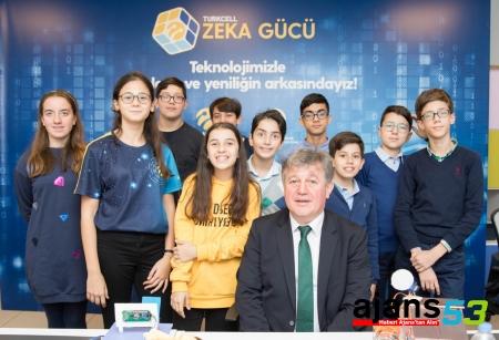 """Turkcell'in Zeka Gücü Projesi'nin son durağı """"Rize"""" oldu"""